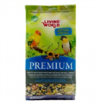 Living World Premium Mix For Small Parrots (802g or 1.8kg)